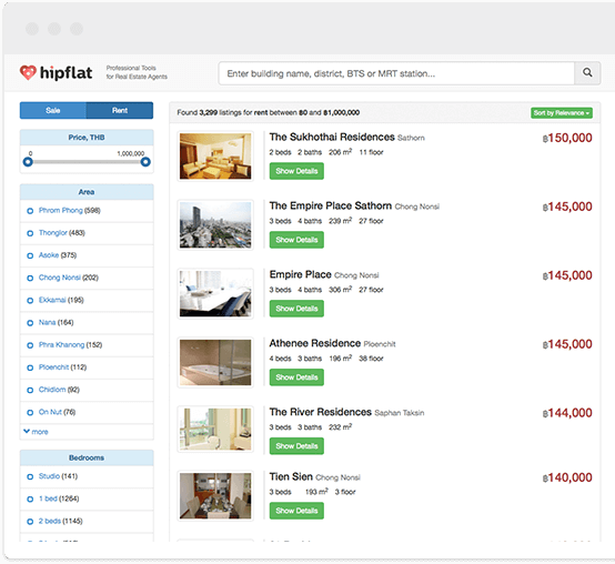 Hipflat for Real Estate Agents